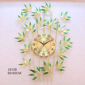 Bamboo Metal Wall Clock Merryland, Sydney